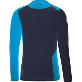 GORE WEAR R7 Camiseta de manga larga Hombre, dynamic cyan/orbit blue